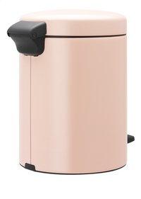 Brabantia Pedaalemmer newIcon Clay Pink 5 l-Linkerzijde