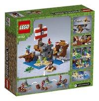LEGO Minecraft 21152 L'aventure du bateau pirate-Arrière