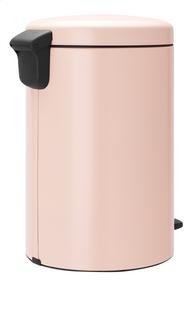 Brabantia Poubelle à pédale newIcon clay pink 20 l-Côté gauche