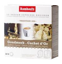 Rombouts Dosettes de café Cachet d'Or - 7 boîtes