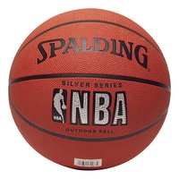 Spalding NBA basketbal Silver Series maat 5