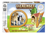 Ravensburger Tiptoi Dierenset kat, golden retriever reu en puppy NL
