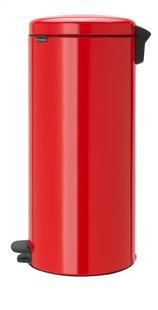 Brabantia Poubelle à pédale NewIcon passion red 30 l-Côté droit