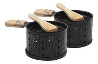 Cookut 2 appareils à raclette à la bougie Lumi-commercieel beeld