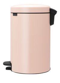 Brabantia Poubelle à pédale newIcon clay pink 12 l-Côté droit