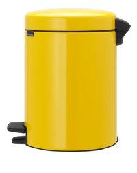 Brabantia Pedaalemmer newIcon Daisy Yellow 5 l-Rechterzijde