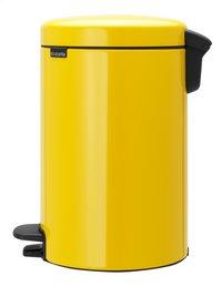 Brabantia Poubelle à pédale newIcon daisy yellow 12 l-Côté droit