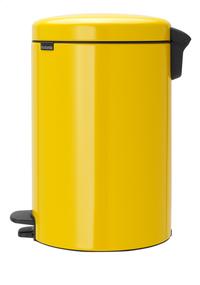 Brabantia Pedaalemmer newIcon Daisy Yellow 20 l-Rechterzijde