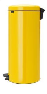Brabantia Poubelle à pédale NewIcon daisy yellow 30 l-Côté droit