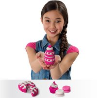 Spin Master Kinetic Sand Build 2 Colour Pack roze/wit-Afbeelding 1