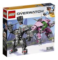 LEGO Overwatch 75973 D.Va & Reinhardt-Achteraanzicht