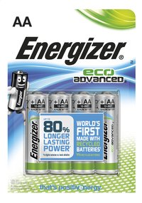 Energizer 4 AA-batterijen Eco Advanced