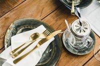 Cosy & Trendy 6 sous-tasses pour tasses à café Laguna blue grey Ø 15 cm-Image 4