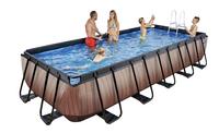 EXIT piscine Wood filtre à sable 5,40 x 2,50 m-Image 2