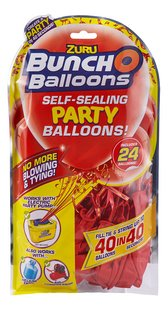 Zuru Bunch O Balloons recharge Party Balloons rouge - 24 pièces-Avant