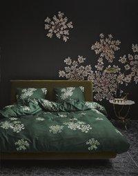 Essenza Dekbedovertrek Lauren green katoensatijn 140 x 220 cm-commercieel beeld