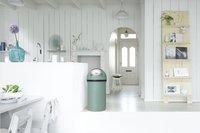 Brabantia poubelle Push Bin 60 l menthe verte-Image 1