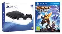 PS4 Slim console 1 To + Ratchet & Clank + manette DualShock 4