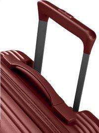 Samsonite harde reistrolley Rectrix Spinner Matte Red 55 cm-Bovenaanzicht