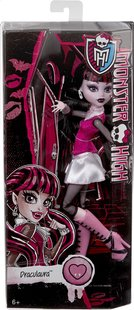 Monster High mannequinpop Original Draculaura-Vooraanzicht
