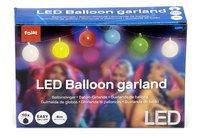 Guirlande de ballons avec LED multicolore-Avant