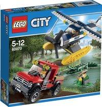 LEGO City 60070 De achtervolging met het watervliegtuig