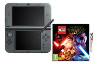 Nintendo Console New 3DS XL noir + Lego Star Wars ANG