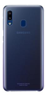 Samsung Gradation Cover voor Galaxy A20e paars-Achteraanzicht