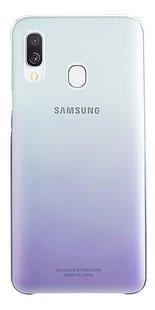 Samsung coque Gradation pour Samsung Galaxy A40 Violet-Arrière