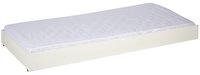 Tiroir de rangement/lit d'appoint Pino blanc-Avant