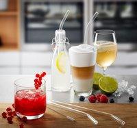 Gefu 4 cocktailrietjes met reinigingsborsteltje-Afbeelding 4