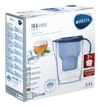Brita Carafe filtrante fill & enjoy Marella Cool blue 2,4 l-Côté gauche