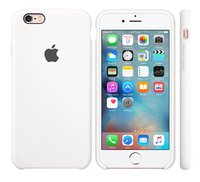 Apple coque en silicone pour iPhone 6s blanc