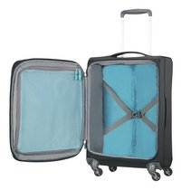 American Tourister Zachte reistrolley Herolite Super Light Spinner EXP volcanic black 55 cm-Artikeldetail