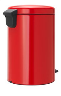 Brabantia Pedaalemmer NewIcon passion red 20 l-Linkerzijde