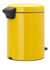 Brabantia Pedaalemmer newIcon Daisy Yellow 5 l-Linkerzijde