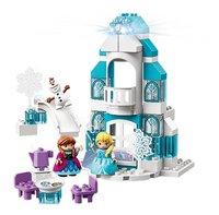 LEGO DUPLO 10899 Frozen Ijskasteel-Vooraanzicht
