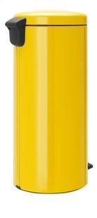 Brabantia Poubelle à pédale NewIcon daisy yellow 30 l-Côté gauche