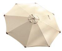 FSC-luxehoutmastparasol diameter 3 m zand