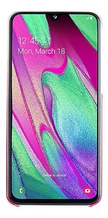 Samsung Gradation Cover voor Galaxy A40 roze-Artikeldetail