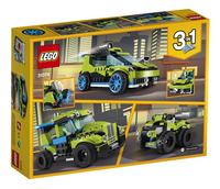 LEGO Creator 3 en 1 31074 La voiture de rallye-Arrière