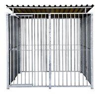 Nesa Grande cage pour chien avec toit Classic