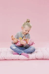 BABY born poupée interactive Soft touch Fille rose 43 cm-Image 6