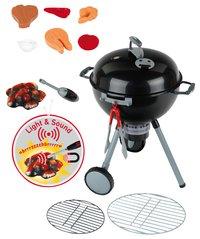 Weber minibarbecue-commercieel beeld