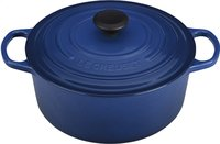 Le Creuset ronde stoofpan Tradition lapis-Bovenaanzicht