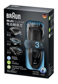 Braun Tondeuse à barbe MultiGroomer MG5050-Avant