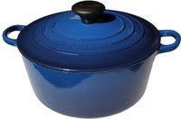 Le Creuset ronde stoofpan Tradition lapis