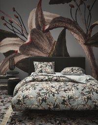 Essenza Dekbedovertrek Lily dusty green katoensatijn 200 x 220 cm-commercieel beeld