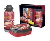Brooddoos en drinkfles Disney Cars 3