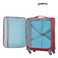 American Tourister Harde reistrolley Herolite Super Light Spinner formula red 55 cm-Artikeldetail